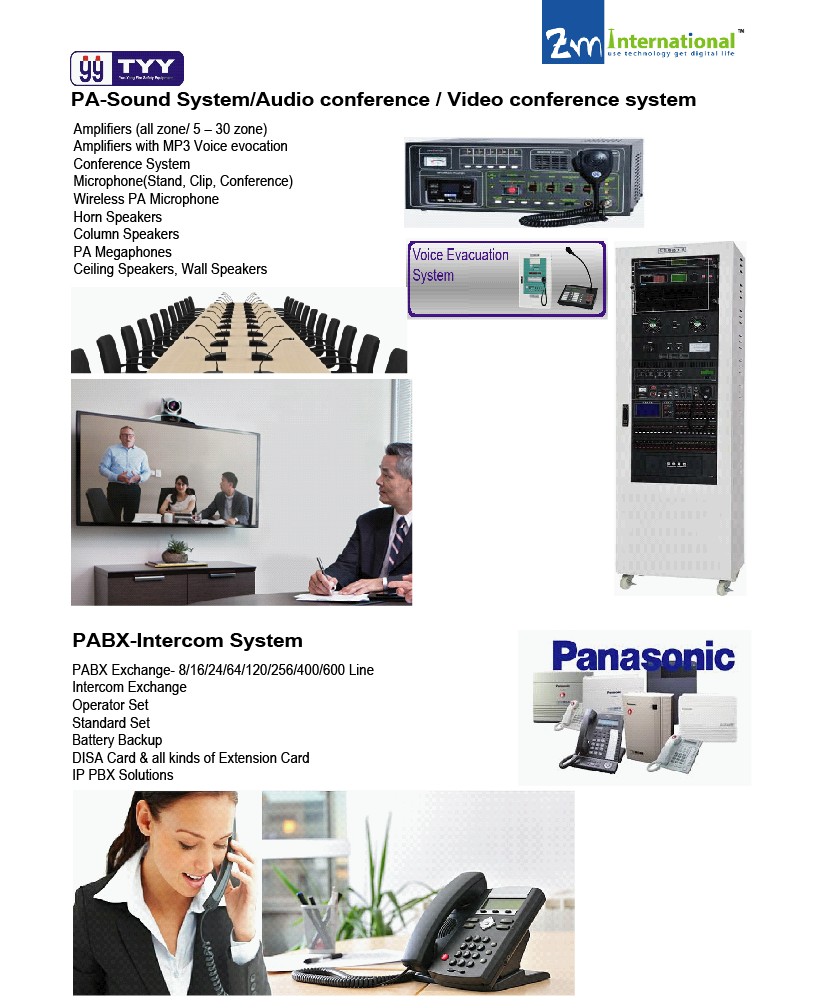 zm international we often refer to this number as an extension zm international is able to supply install the pabx intercom fax machine as per your requirements